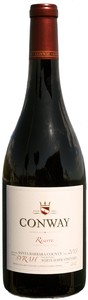 2013 Conway Syrah, Reserve, White Hawk Vineyard